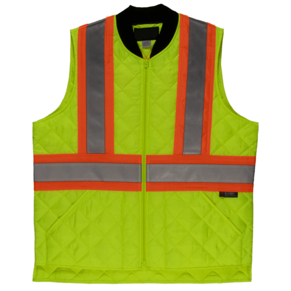 Tough Duck Quilted Safety Vest; Style: SV05