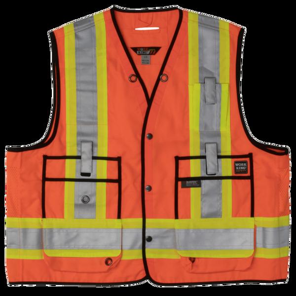 Tough Duck Surveyor Safety Vest; Style: S313