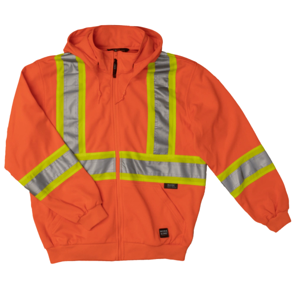 Tough Duck Unlined Safety Hoodie; Style: S494