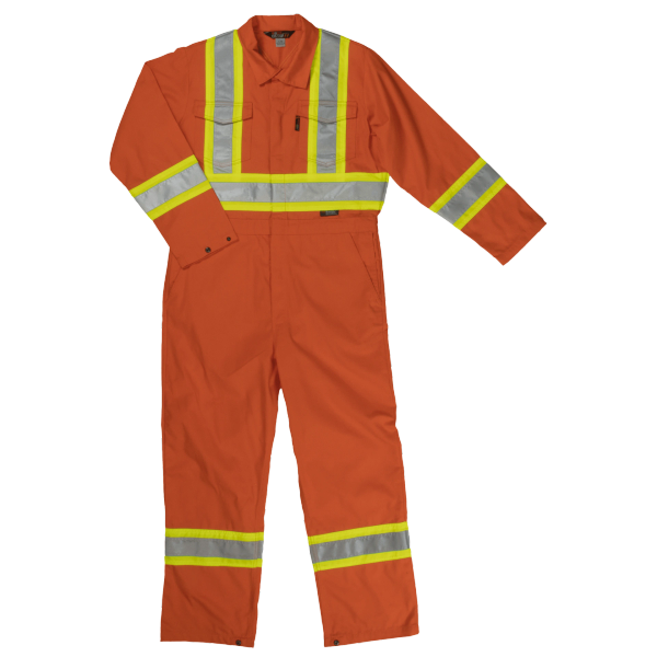 Tough Duck Unlined Safety Coverall S792