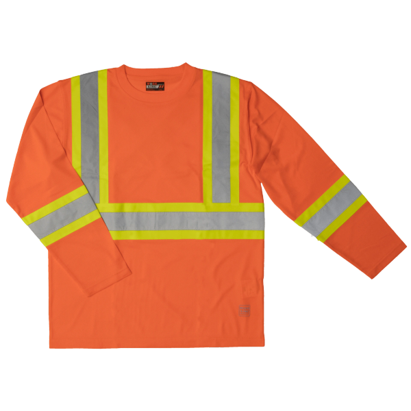 Tough Duck Long Sleeve Safety Shirt, Style S10