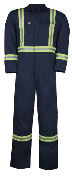 Big Bill 7 oz Westex™ Ultra Soft® Unlined HiViz FR Coverall; Style: 1325US7