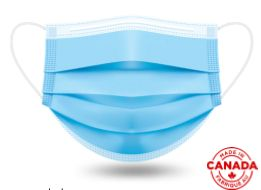 IFR workwear - 3 ply DISPOSABLE Surgical Face Mask - ASTM F2100 Level 2 - 1500 units (1 box)