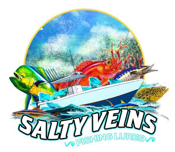 Salty Veins stickers