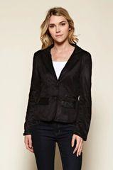 Black Light Weight Blazer Jacket