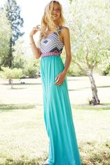Jaded Maxi Dress