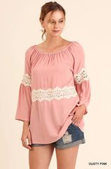 Lust for You off the Shoulders Flowy Tunic Top
