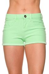 Bright Cut Off Shorts