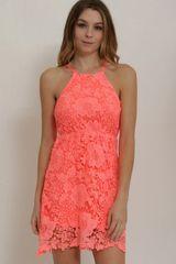 Neon Lights Summer Dress