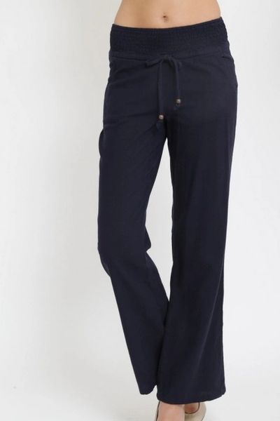 Beach Trip Linen Trousers