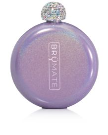 Brumate Pocket Flask with Embellished Lid
