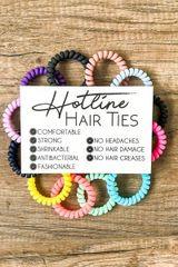 Skinny Hot Line Hair Ties