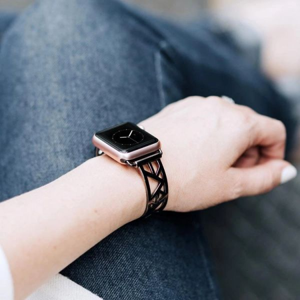 Luna Triangles Design Apple Watch Adjustable Band