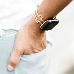 Hope Cross Design Apple Watch Adjustable Band