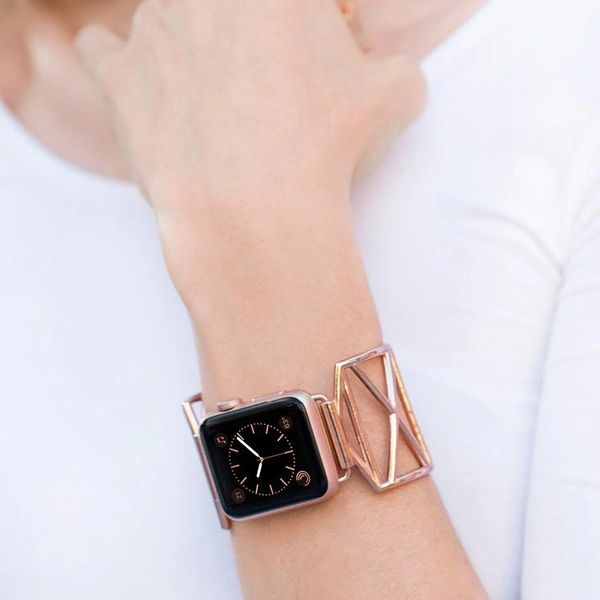 Diana Lattice Design Apple Watch Adjustable Band