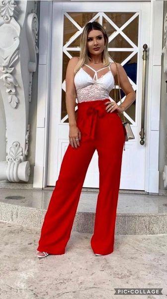 High Waist Paper Bag Dress Pants