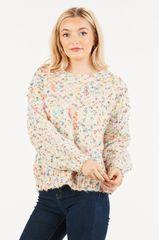 Ivory Confetti Sweater