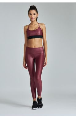 Noli Vino Faux Leather Liquid Legging