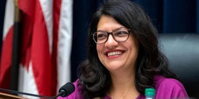 Congresswoman Rashida Tlaib, Arabs in U.S. Congress, 2020 Elections, Palestinians, Mazen Kherdeen Arab American journal, Mazen Kherdeen, Arab American Journal, Kherdeen