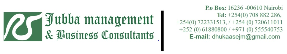 Jubba Management & Business Consultants