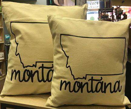 State Of Montana Pillow Butte Stuff Montana