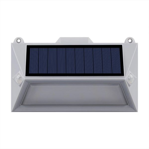 Quace Solar Dual Motion Sensor Lights 18 LED Outdoor Wireless Led Security Waterproof Wall Light for Garden Patio Driveway Porch Pathway Yard Garage Stair Fence Landscape - 1 Unit