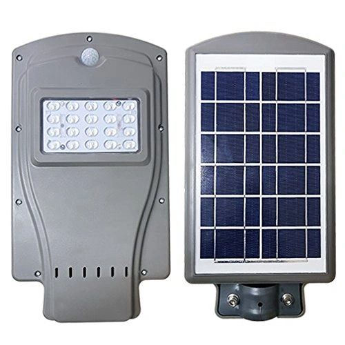 Quace Waterproof Solar Street Light LED Radar Sensor Lamp - German Technology - 10W