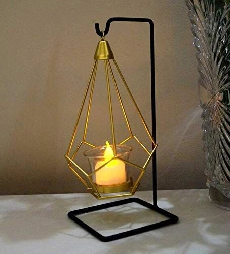 Quace Iron Nordic Hanging Candle Holder (Nordic Hanging)
