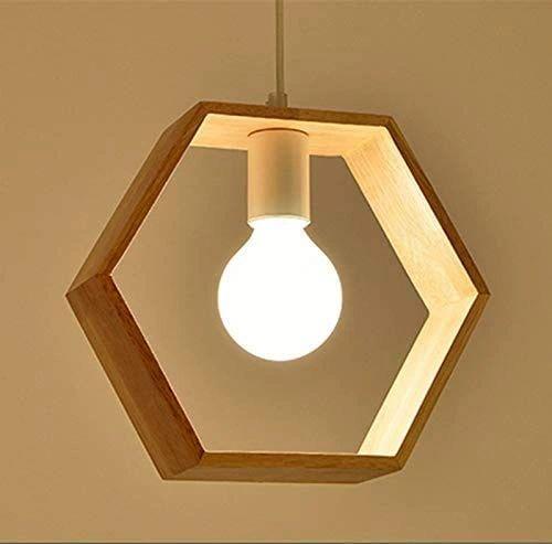 COUDRE 60W Pendant Light, Hexagon, Hexagon