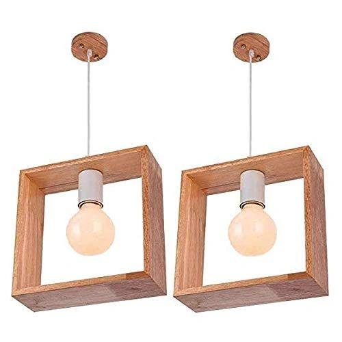 COUDRE 60W Pendant Lamp, Square - 2 units