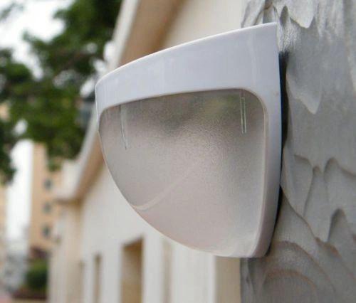 Quace Solar White LED Light Wall Mount