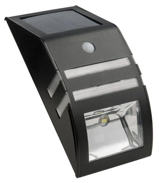 Quace Solar Wall Light with Motion Sensor - Black