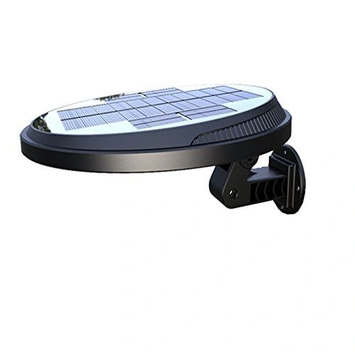 Quace Rotatable and Detachable Wireless Led Solar Energy Wall Super Bright Lamp with Waterproof IP65