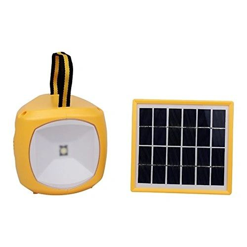 Quace High Brightness Solar Light with Mobile Charger
