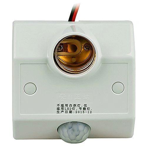 Quace Motion Sensor Enabled Bulb Holder