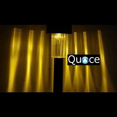 Quace Garden Solar Light for Pathway Ambient Lighting Yellow LED