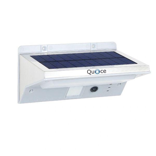 Quace Brand New 21 LED Outdoor Wireless Waterproof Security Motion Sensor Solar Powered Light Triple Mode - PIR/Low Light, PIR/Off, Continuous Light