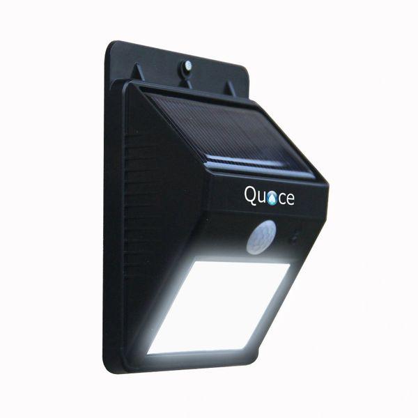 Quace 2nd Gen 6 Led Wireless Solar Motion Sensor Lights