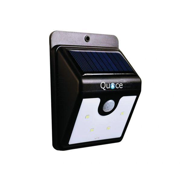 Quace 4 LED PIR Motion Sensor Stick On Solar LED Light