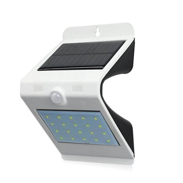 Quace 24 LED Dual Colour Solar Lights Outdoor Smart Powered Motion Sensor Lamp Touch Control ON/OFF