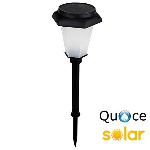 Quace Hex Design Solar Garden Light for Ambient Lighting Colour Changing - Red/Green/Blue