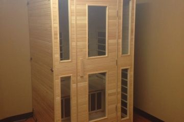 infrared sauna dry heat Savannah ga