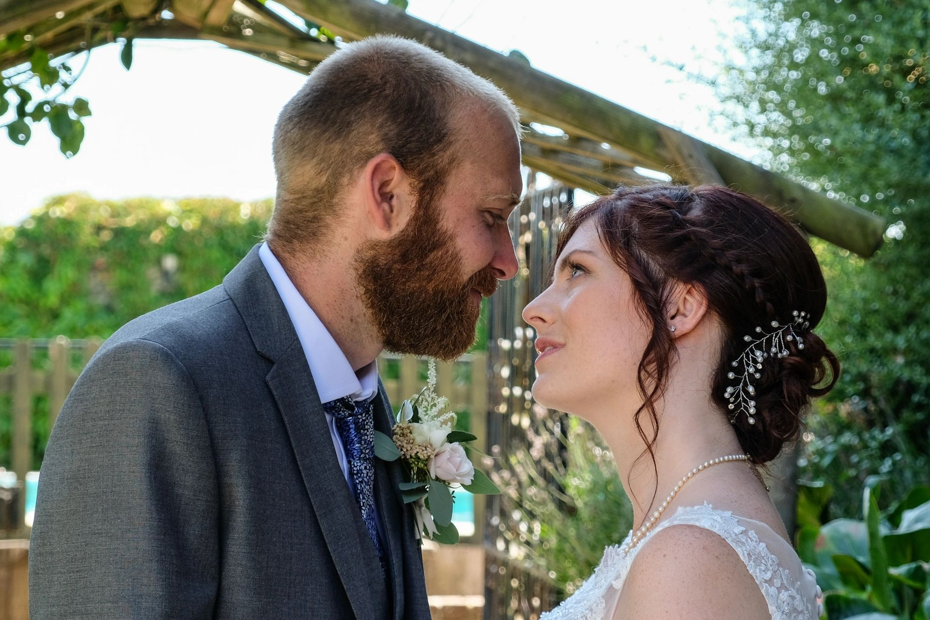 Wedding in East Sussex of Alex & Chris