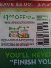 10 Coupons $1/2 Green Giant Veggie Tots, Riced Veggies, Mashed Cauliflower, Veggie Spirals, Cauliflower Pizza Crust, Harvest Protein Bowls Or Any Little Green Sprouts Organics By Green Giant Frozen Product Exp.6/1/19