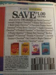 10 Coupons $1/2 Cheerios Cereals (SEE PIC) Exp.7/13/19