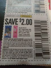 10 Coupons $2/1 Bic Single Blade, Twin Blade, Bic Comfort 3, Bic 3 or Bic Silky Touch 3 Razor Pack Exp.6/21/19