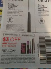 10 Coupons $3/1 Revlon Eye Product Exp.7/6/19