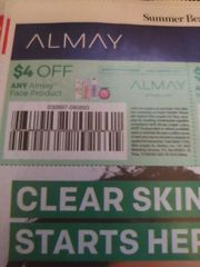 10 Coupons $4/1 Almay Face Product Exp.7/6/19