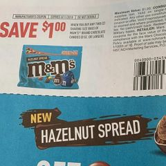 10 Coupons $1/2 Sharing Size Bags of M&M's Brand Chocolate Candies 8oz+ Exp.8/11/19