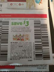 10 Coupons $3/1 Purina Beneful Grain Free, Select 10, Simple Goodness or Superfood Blend Dry Dog Food 3.5lb+ Exp.7/23/19